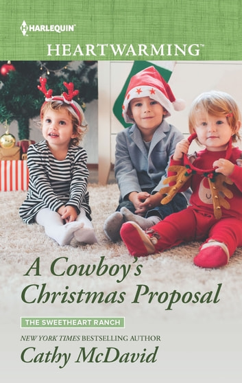 A Cowboy's Christmas Proposal - A Clean Romance ebook by Cathy McDavid