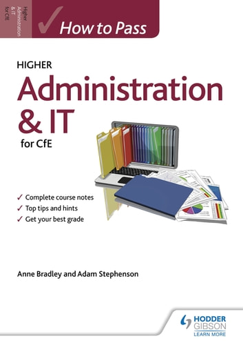 How to Pass Higher Administration and IT ebook by Anne Bradley,Adam Stephenson
