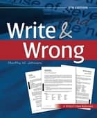 Write and Wrong ebook by Marthy Johnson