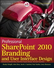 Professional SharePoint 2010 Branding and User Interface Design ebook by Kobo.Web.Store.Products.Fields.ContributorFieldViewModel