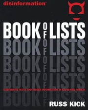 Disinformation Book of Lists ebook by Russ Kick