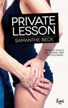 Private lesson eBook by Samanthe Beck