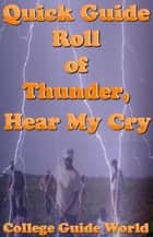 Quick guide johnny tremain ebook by college guide world quick guide roll of thunder hear my cry ebook by college guide world fandeluxe Gallery