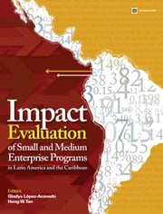Impact Evaluation of Small and Medium Enterprise Programs in Latin America and the Caribbean ebook by López-Acevedo,Gladys; Tan,Hong W.
