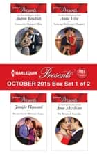 Harlequin Presents October 2015 - Box Set 1 of 2 - An Anthology 電子書 by Sharon Kendrick, Jennifer Hayward, Annie West,...