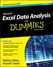 Excel Data Analysis For Dummies ebook by Stephen L. Nelson,E. C. Nelson