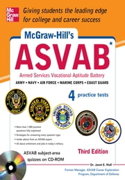 McGraw-Hill's ASVAB, 3rd Edition - Strategies + Quizzes + 4 Practice Tests ebook by Dr. Janet Wall