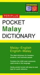 Pocket Malay Dictionary - Malay-English English-Malay ebook by Zuraidah Omar