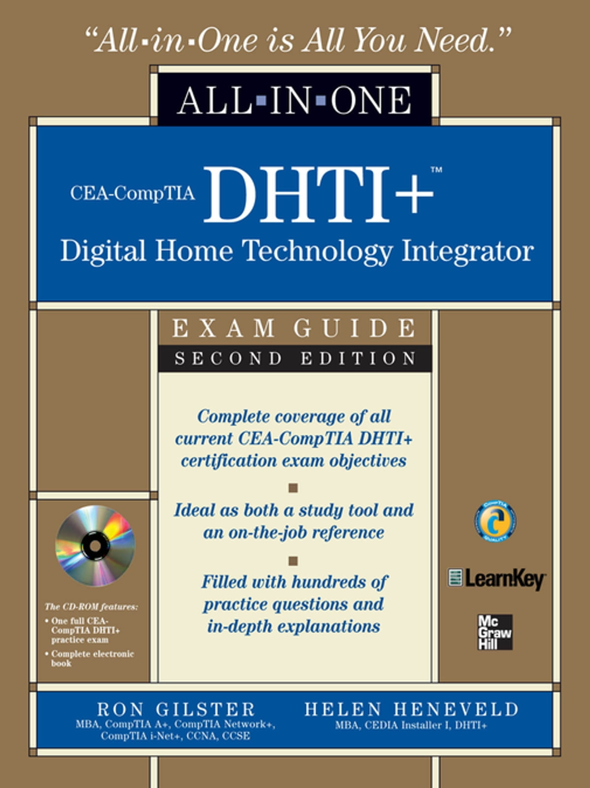 Cea Comptia Dhti Digital Home Technology Integrator All In One Exam