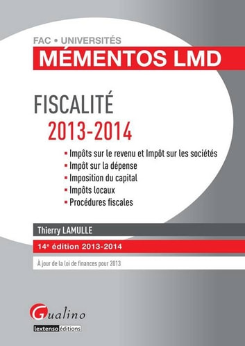 Fiscalité 2013-2014 ebook by Lamulle Thierry