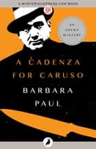 A Cadenza for Caruso ebook by Barbara Paul