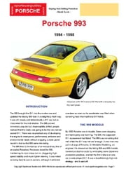 Porsche 993 Buyers' Guide ebook by Mellor, Chris
