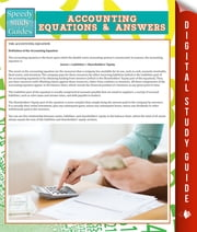 Accounting Equations And Answers (Speedy Study Guides) ebook by Speedy Publishing