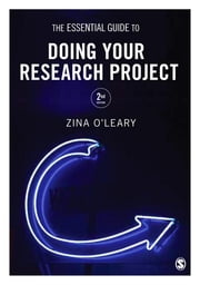 The Essential Guide to Doing Your Research Project ebook by Zina O'Leary