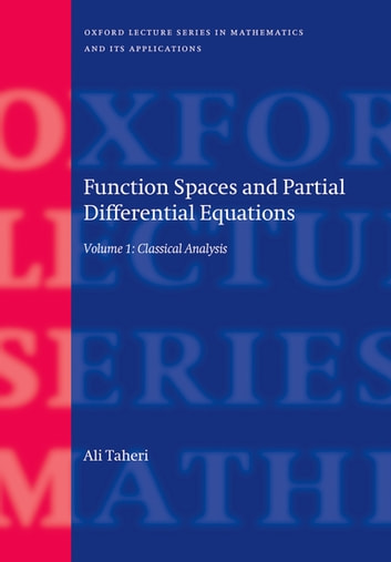 Function spaces and partial differential equations ebook by ali function spaces and partial differential equations 2 volume set ebook by ali taheri fandeluxe Choice Image