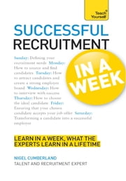 Successful Recruitment in a Week: Teach Yourself ebook by Nigel Cumberland,Jenny Riley
