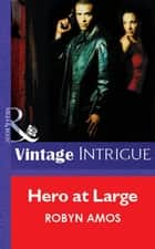 Hero At Large (Mills & Boon Vintage Intrigue) ebook by Robyn Amos