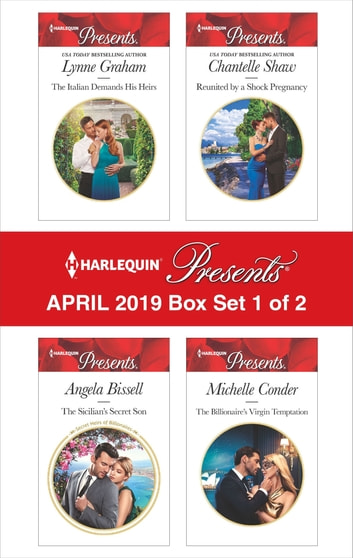 Harlequin Presents - April 2019 - Box Set 1 of 2 - An Anthology ekitaplar by Lynne Graham,Angela Bissell,Chantelle Shaw,Michelle Conder