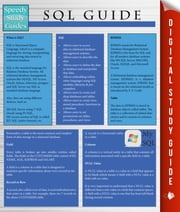 Sql Guide (Speedy Study Guides) ebook by Speedy Publishing