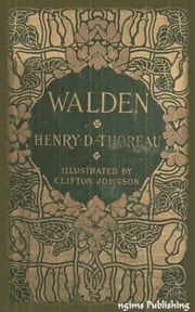 Walden (Illustrated + Audiobook Download Link + Active TOC) ebook by Henry David Thoreau