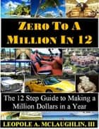 Zero To A Million in 12: The 12 Step Guide to Making a Millon Dollars in a Year ebook by Leopole Astonelli McLaughlin III