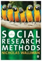 Social Research Methods - The Essentials ebook by Nicholas Walliman
