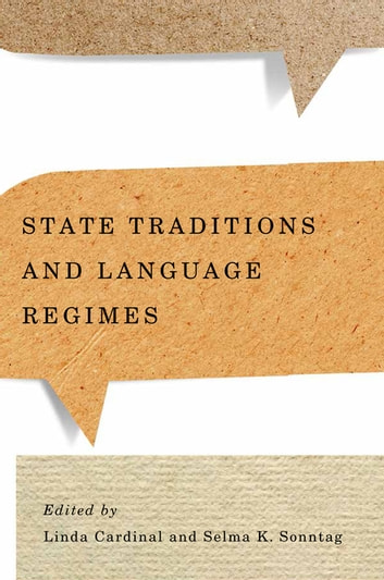 State Traditions and Language Regimes ebook by