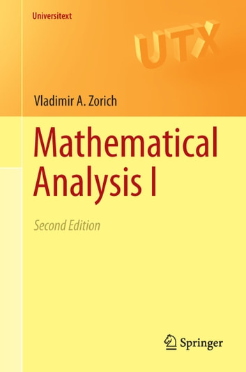 Mathematical Analysis I ebook by V. A. Zorich
