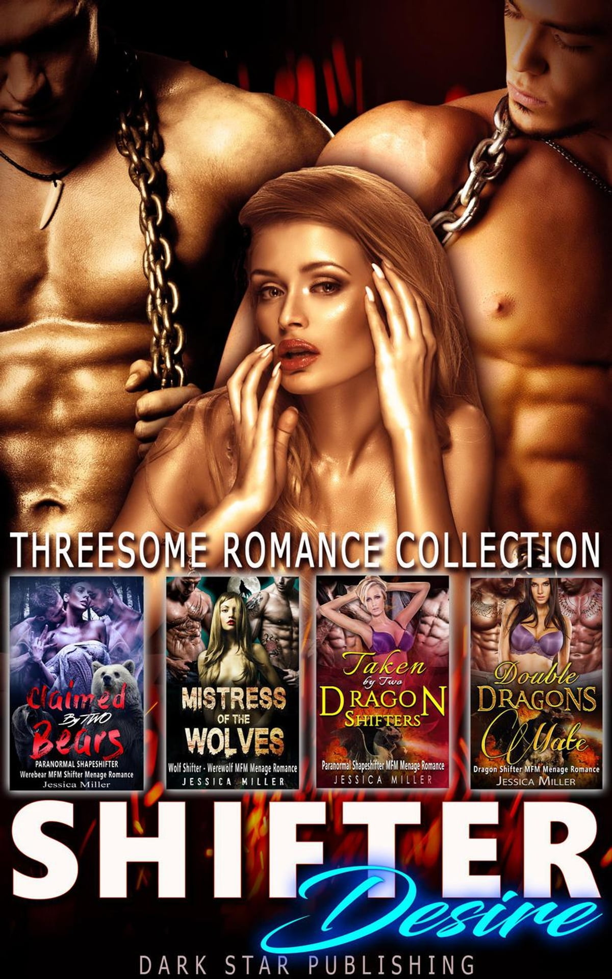 Shifter Desire Threesome Romance Collection Ebook By Jessica