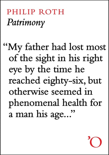 Patrimony - A True Story ebook by Philip Roth
