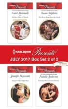 Harlequin Presents July 2017 - Box Set 2 of 2 - Sicilian's Baby of Shame\Salazar's One-Night Heir\The Secret Kept from the Greek\Claiming His Convenient Fiancée ebook by Carol Marinelli, Jennifer Hayward, Susan Stephens,...