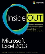Microsoft Excel 2013 Inside Out ebook by Craig Stinson,Mark Dodge