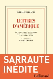 Lettres d'Amérique ebook by Nathalie Sarraute,Carrie Landfried,Olivier Wagner
