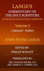 Lange's Commentary on the Holy Scripture, Volume 2 ebook by Lange, John Peter