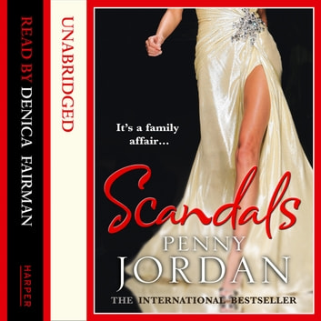 Scandals audiobook by Penny Jordan
