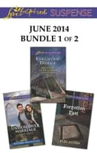 Love Inspired Suspense June 2014 - Bundle 1 of 2 - Undercover Marriage\Collateral Damage\Forgotten Past ebook by Terri Reed, Hannah Alexander, Mary Alford