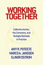 Working Together - Collective Action, the Commons, and Multiple Methods in Practice ebook by Amy R. Poteete, Marco A. Janssen, Elinor Ostrom
