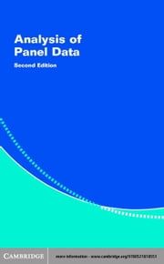 Analysis of Panel Data ebook by Hsiao, Cheng