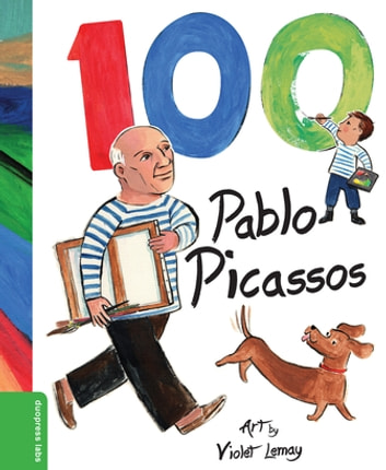 100 Pablo Picassos ebook by duopress labs
