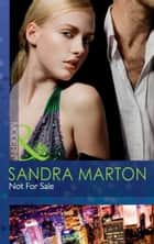 Not For Sale (Mills & Boon Modern) 電子書 by Sandra Marton