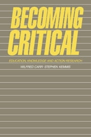 Becoming Critical ebook by Carr, Wilfred