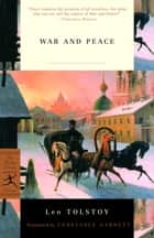 War and Peace ebook by Leo Tolstoy, Constance Garnett