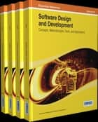 Software Design and Development ebook by Information Resources Management Association