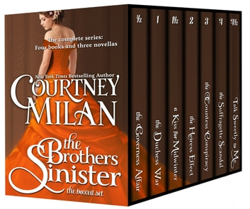The Brothers Sinister - The complete boxed set ebook by Courtney Milan