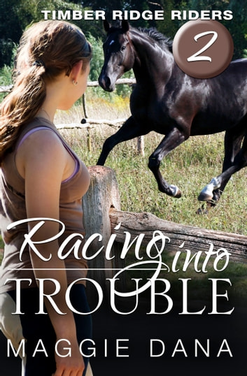 Racing into Trouble ebook by Maggie Dana