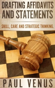 Drafting Affidavits and Statements ebook by Paul Venus