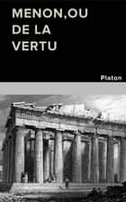 Menon ebook by PLATON