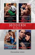 Modern Box Set 1-4 Dec 2020/Cinderella's Christmas Secret/An Heir Claimed by Christmas/His Majesty's Forbidden Temptation/The Italian's F ebook by Sharon Kendrick, Maisey Yates, Clare Connelly,...