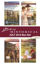 Harlequin Love Inspired Historical July 2016 Box Set - Stand-In Rancher Daddy\Lawman in Disguise\The Nanny Solution\Counterfeit Courtship ebook by Renee Ryan, Laurie Kingery, Barbara Phinney,...