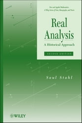 Real Analysis - A Historical Approach ebook by Saul Stahl